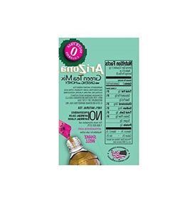 AriZona Green Tea with Ginseng Sugar Free Iced Tea Stix, 10