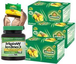 Hindu Green Tea with Pineapple Flavor 20 Pack of 3-total 60