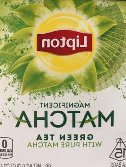 Lipton Green Tea with Pure Matcha Tea  15 Count