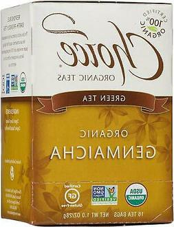 Choice Organic Teas Green Tea With Toasted Brown Rice 16 Tea