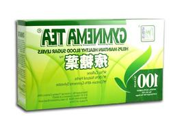 Gymnema Green Tea For Diabetics, No Caffeine