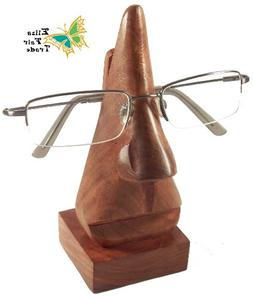 Handmade Wood Eyeglass Holder by Eliza Fair Trade - Unique G