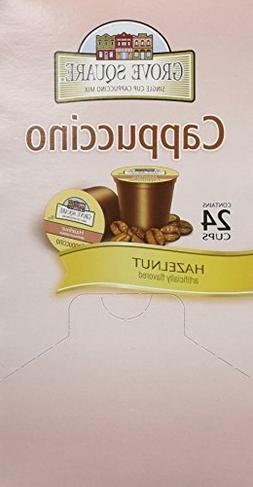 GROVE SQUARE HAZELNUT CAPPUCCINO 96 Single serve cups