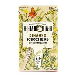 HEATH & HEATHER ORGANIC TEA GREEN ROOIBOS NATURALLY CAFFEINE