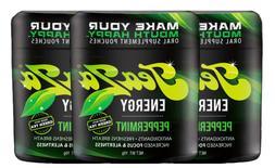 TeaZa Herbal Energy Pouch Peppermint 3ct Viter Lyft Caffeine