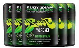 TeaZa Herbal Energy Pouch Peppermint 5ct Viter Lyft Caffeine