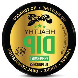 TeaZa Herbal Energy Pouch Peppermint Puck 1ct  Lyft Caffeine