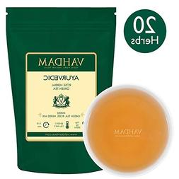 Ayurvedic Herbal Tea , 21 HERBS, 100% Natural Tea, Organic G