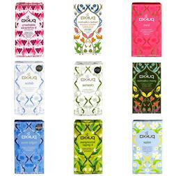 Pukka Herbal Organic Tea Sachets - Peppermint, Cleanse, Revi