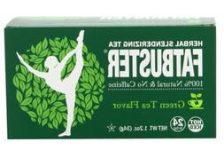 Fatbuster Herbal Slenderizing Tea Green Tea Flavor - Weight