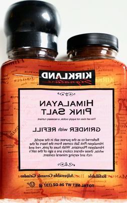 Kirkland Signature Himalayan Pink Salt Adjustable Grinder wi
