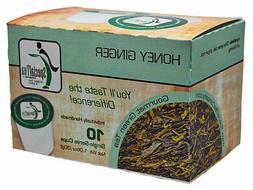 Honey Ginger Green Tea Single Serve Cups  10 Count
