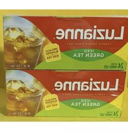 Luzianne® Iced Green Tea Family Size Bags 24 ct  Box/ 2 Box