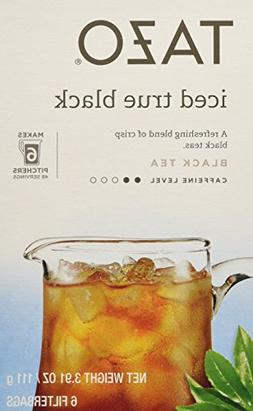 Tazo Iced Tea, Black Tea, 6 pk, .65 oz