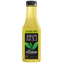 Pure Leaf Iced Tea, Not Too Sweet, Real Brewed Honey Green T