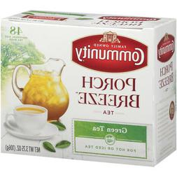 Community Coffee Individual Size Green Tea Bags, 48 Count