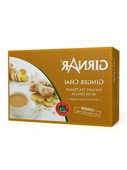 Girnar Instant Chai  Premix With Ginger 10 Sachet Pack