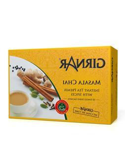 Girnar Instant Chai Tea Premix With Masala, 10 Sachet Pack