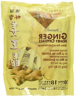 Prince of Peace Instant Ginger Honey Crystals, 30 ct Bags Be