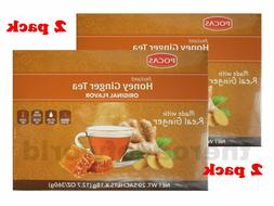 POCAS Instant Honey Ginger Tea Made with Real Ginger | Origi