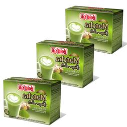 Gold Kili Instant Matcha Green Tea Ginger Latte  30 Packets