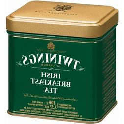 Twinings Irish Breakfast 100 Gram Loose Tea Tin, Set of 2
