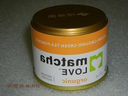 Matcha Love Ceremonial Green Tea Organic 0.7 Ounce Canister