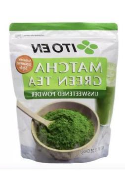 Ito En Matcha Green Tea Powder Bag 12 oz. Unsweetened Gluten