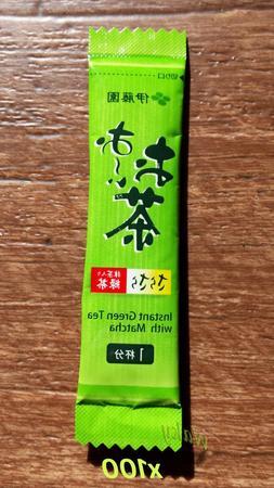 Green Tea ITOEN - Japanese Instant Green Tea with Matcha - I