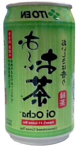 Itoen Green Tea, Unsweetened, 11.5-Ounce
