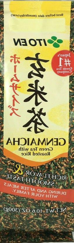 ITO EN Japanese Genmaicha Green Tea with Roasted Rice 10.6 o