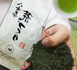 Japanese Green Tea Fukamushi Ara cha No refined and processe