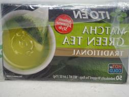 Ito En Japanese Green Tea Sencha Matcha 100 tea bags