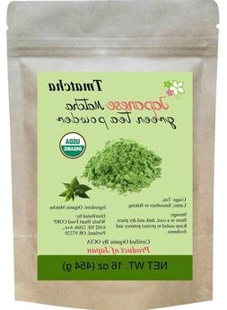 Tmatcha Japanese Matcha Green Tea Powder USDA Organic 16 oz