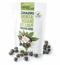 Jasmine Dragon Pearls Green Tea - Premium Flavor Organic Tea