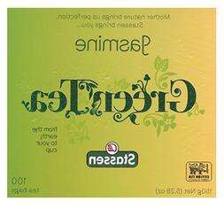 Jasmine Green Tea 100 Tea Bags Quality #1 - Stassen Pure - N
