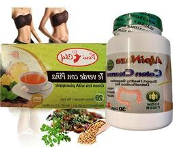 GREEN TEA Herbal Detox Weight Loss System-3 Week Supply Tota
