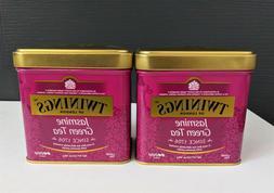 Twinings Jasmine Green Tea Loose 3.53 oz. Tin Set of 2