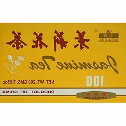 Royal King Jasmine Tea -100 Tea Bags 7.05 OZ ~China Jasmine
