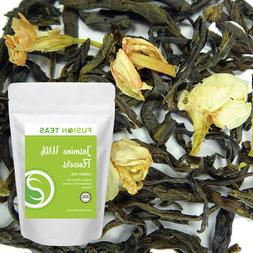 Jasmine with Flowers Green Tea - Organic - Loose Leaf - Fusi