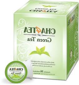 Cha4TEA K-Cup Green Tea, 36-Count Keurig K Cups