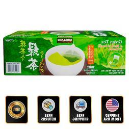 Kirkland Green Tea Bags 1.5 gr 100-count Sencha / Matcha Hot