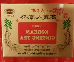 Prince Of Peace Korean Ginseng Instant Tea - 10 bags in box