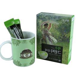 DAMTUH Korean Jeju Green Tea Latte Sweet Matcha Real Green T