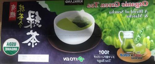 100 count kirkland signature matcha japanese green