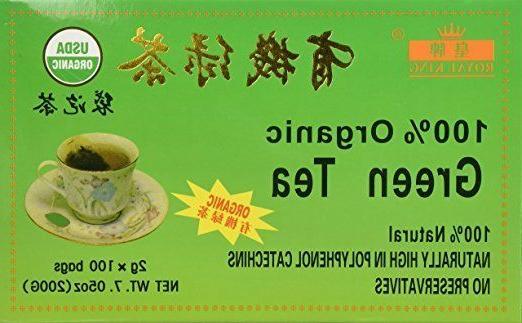 100 percent organic green tea 100 tea