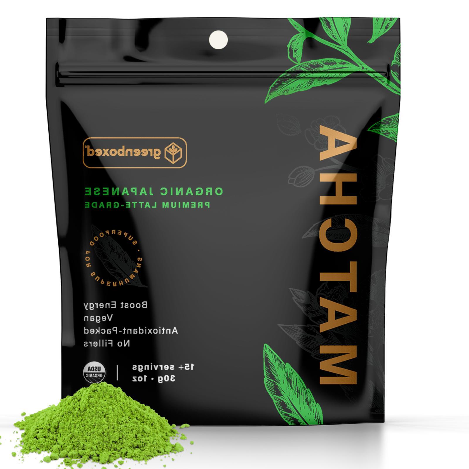 Greenboxed Matcha Green Tea Powder