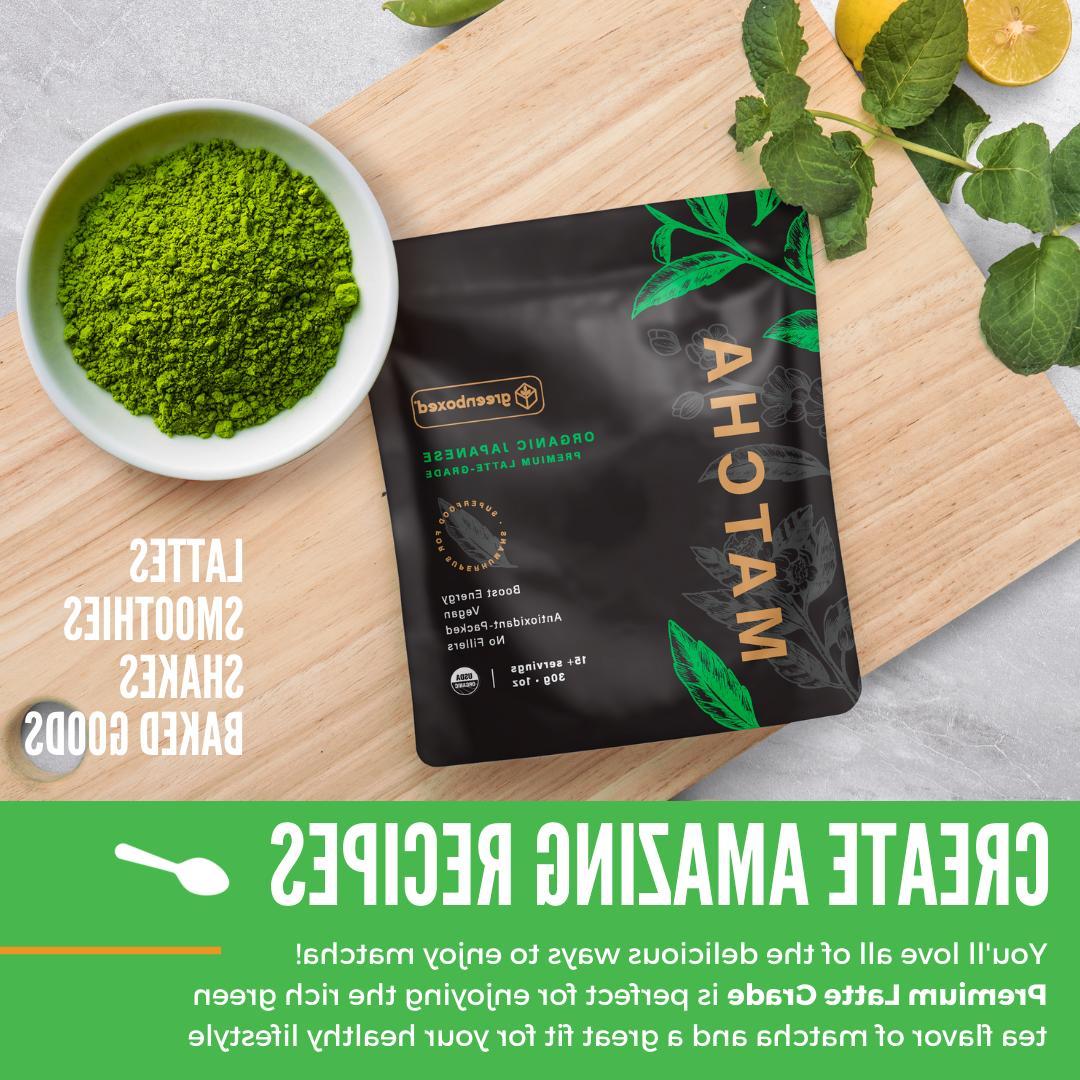 Greenboxed Matcha Green Powder