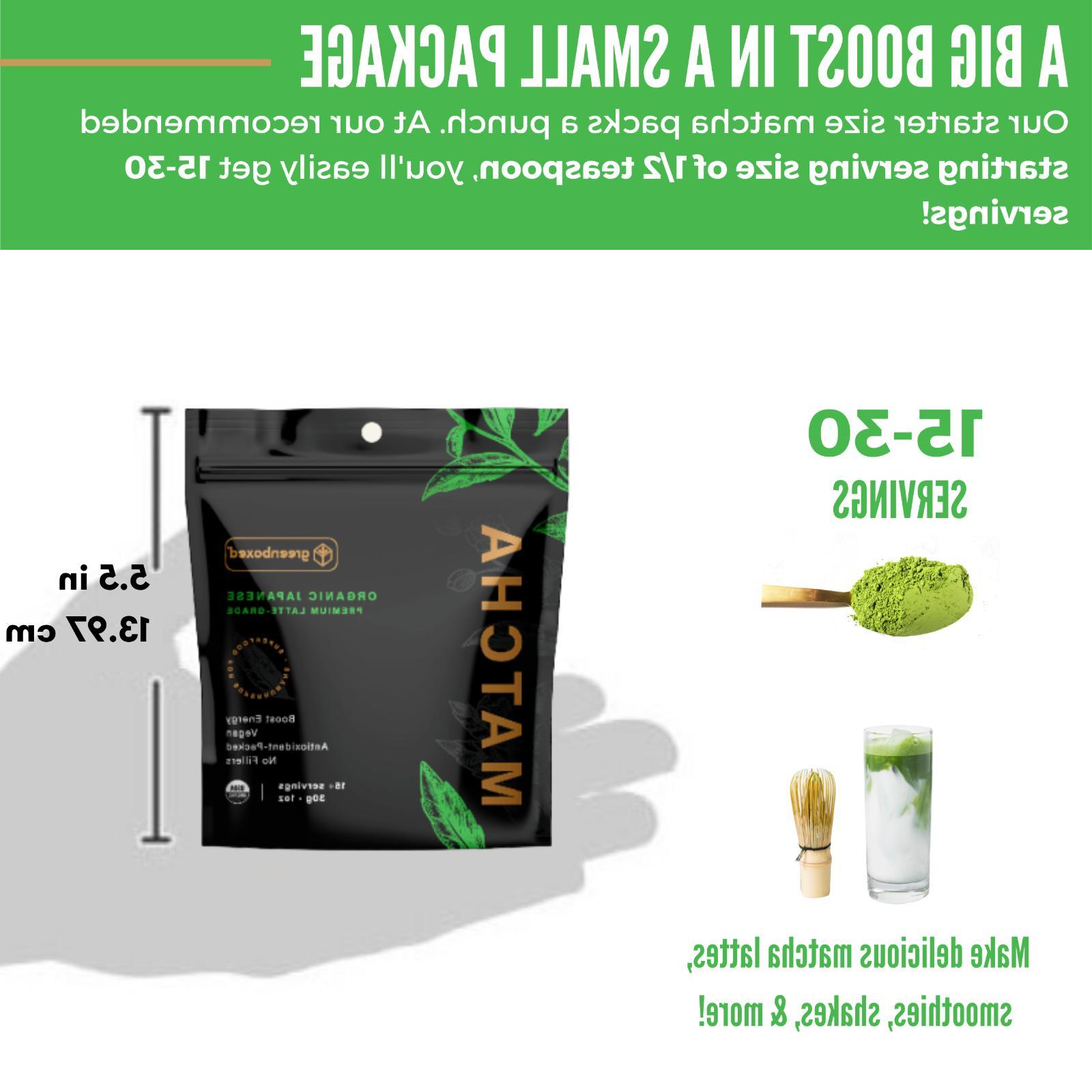 Greenboxed Matcha Powder