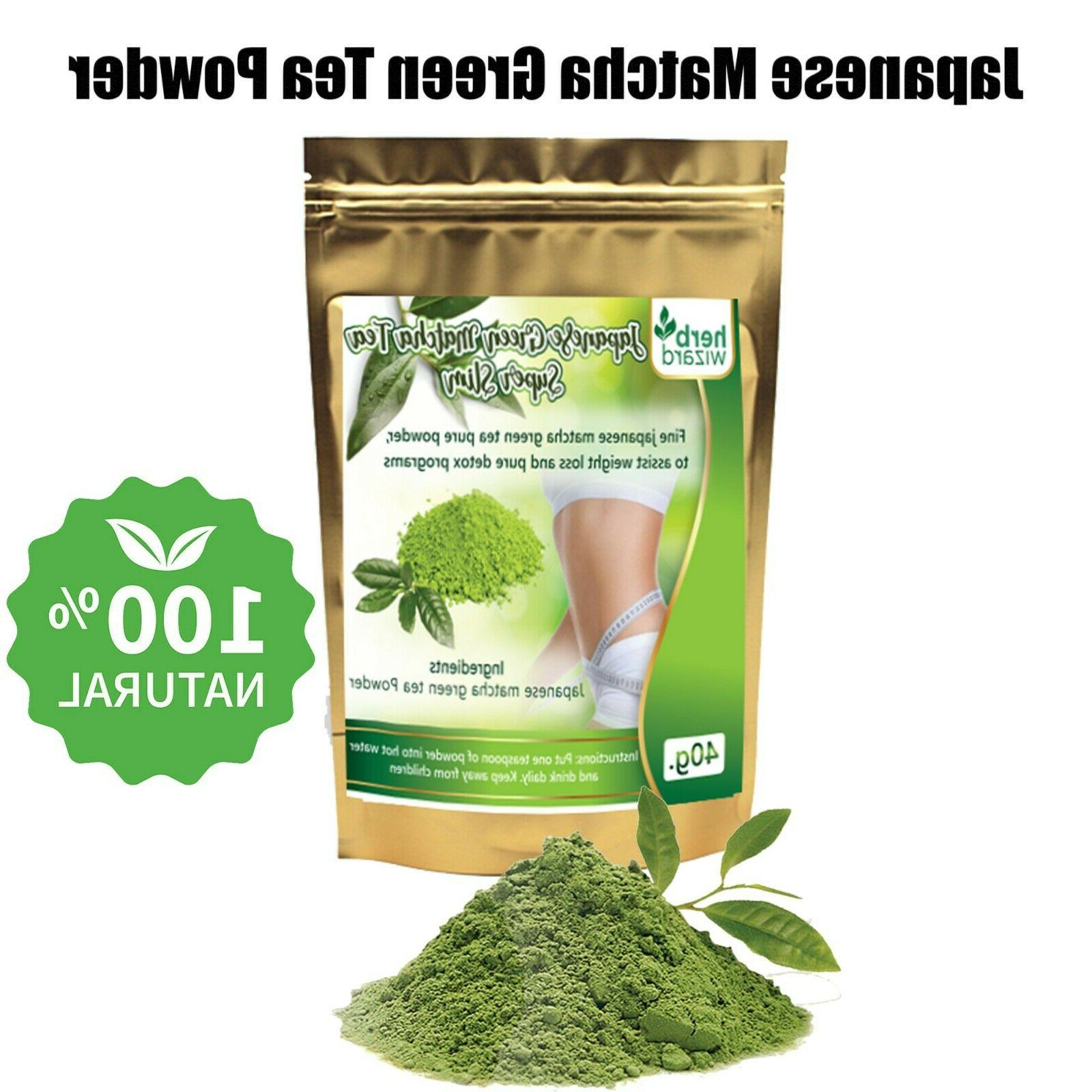 100 percent organic matcha powder unsweetened pure